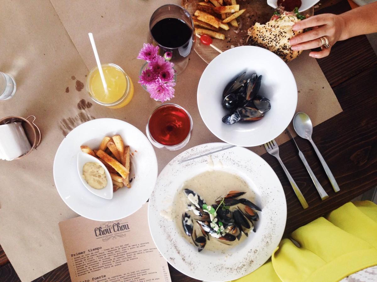Chez Chou Chou - maridaje perfecto entre lo francés y lo mexicano