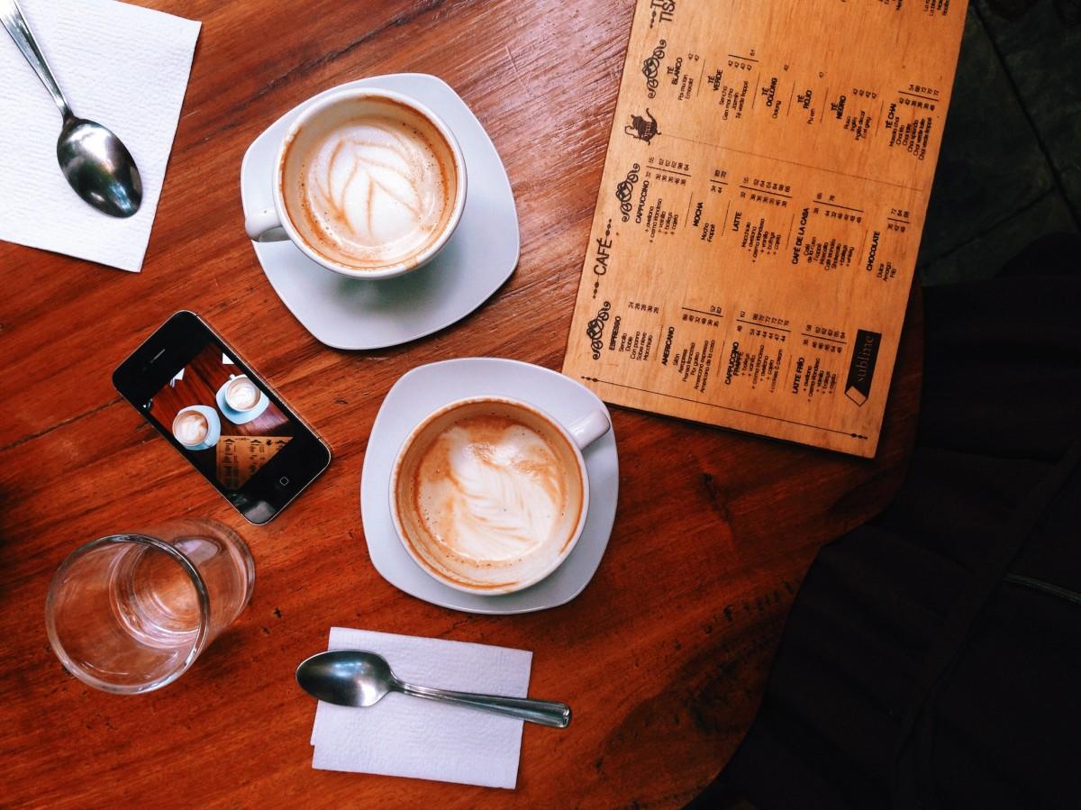 ¡Mis seis cafés favoritos de la ciudad!