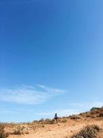 En la cima de Rock House Trail en San Diego
