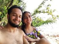 Felices en Cayo Zapatilla