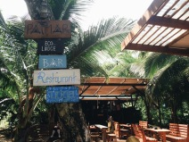 Restaurante-bar en Red Frog Beach