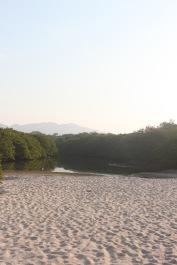 Amanenciendo en playa La Lancha