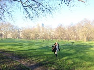 Feliz en Green Park