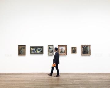 Ren frente a Matisse