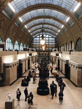 Interior del Musée d'Orsay