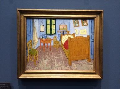 Dormitorio en Arles de Van Gogh