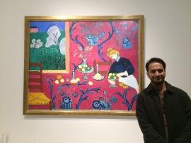 El Cuarto rojo de Matisse