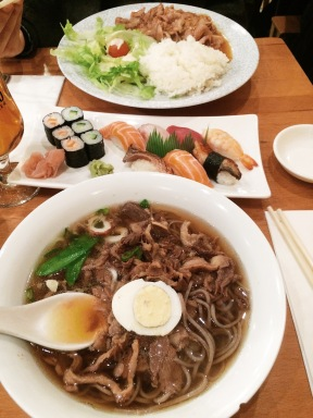 Sopa en Misato