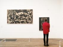 A la izquierda, un Pollock