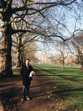 Caminando por Green Park