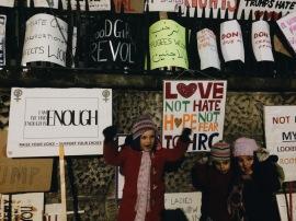 Marcha de la Mujer en Trafalgar Square