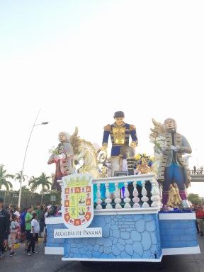 Carro de la Alcaldía de Panamá/Municipality Float