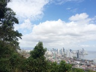 El skyline de la ciudad/The beautiful Panamanian skyline