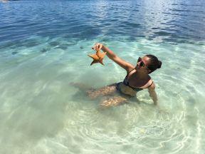Estrellas de mar en Isla Fragata/Starfish in Fragata Island
