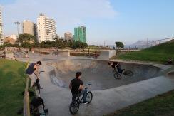 Parque de skate en Miraflores/Skate Park