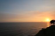 Puesta de Sol desde el Malecón/Sunset from the Malecón