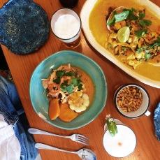 Pidan el Ceviche Picante y el Tacu Tacu