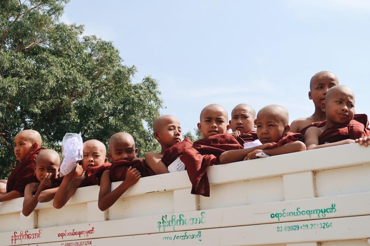 Myanmar: auténtico clavado hacia el pasado