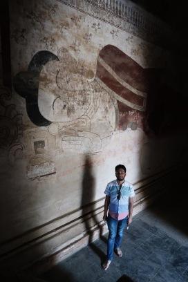 Dentro del Templo Sulamani